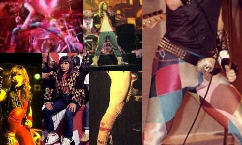 Bruce Dickinson's ridiculous pants