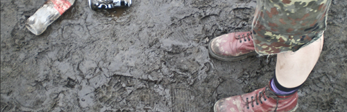 in the mud at WOA 08