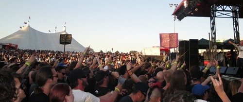 Soundwave 2010, Perth